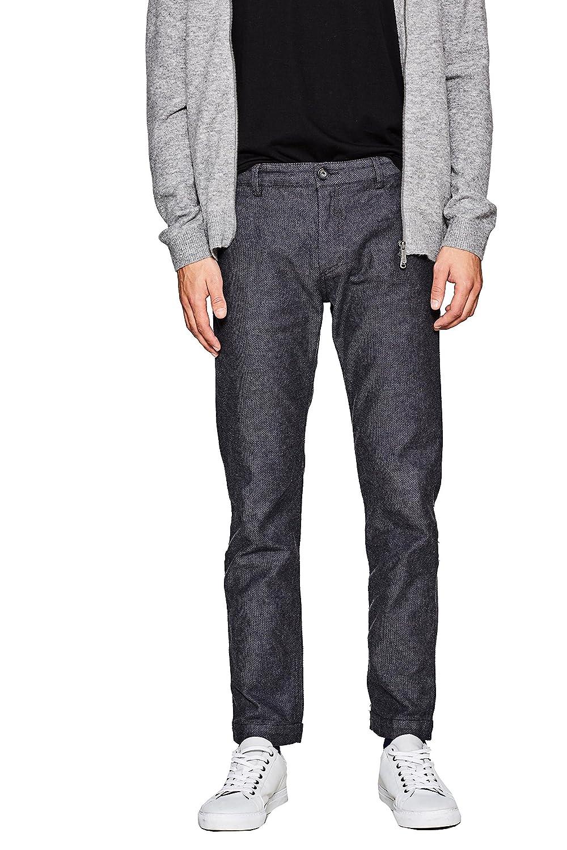 107eo2b009, Pantalon Homme, Bleu (Navy 400), W33/L34 (Taille Fabricant: 33/34)Esprit