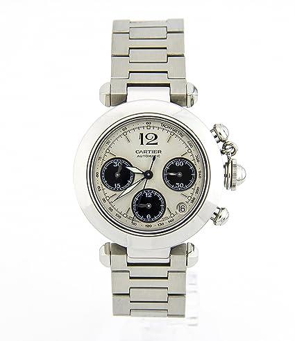 Cartier Pasha Automatic-Self-Wind Mens Reloj 2412 (Certificado) de Segunda Mano: Cartier: Amazon.es: Relojes