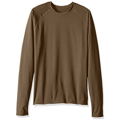 Soffe Men's Tight Fit Long Sleeve Jersey T-Shirt at Men's Clothing store