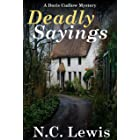 Deadly Sayings (A British Seaside Cozy Mystery Book 2)