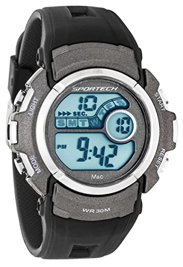 Unisex Sportech | Color negro del deporte del reloj Digital | SP10115: Amazon.es: Relojes