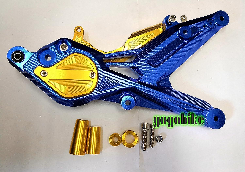 ヤマハ シグナスX SR 4型 アルミスイングアーム アルミ製 本体 青 ブルー 4色選択可能 (全24種類) (金) B07FXH4QG6 金 金