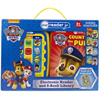 Paw Patrol – Me Reader jr. Electronic Reader and 8-Book Library