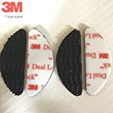 StickersLab - Adesivo velcro per fissaggio Telepass originale 3M Dual Lock NERO (4)