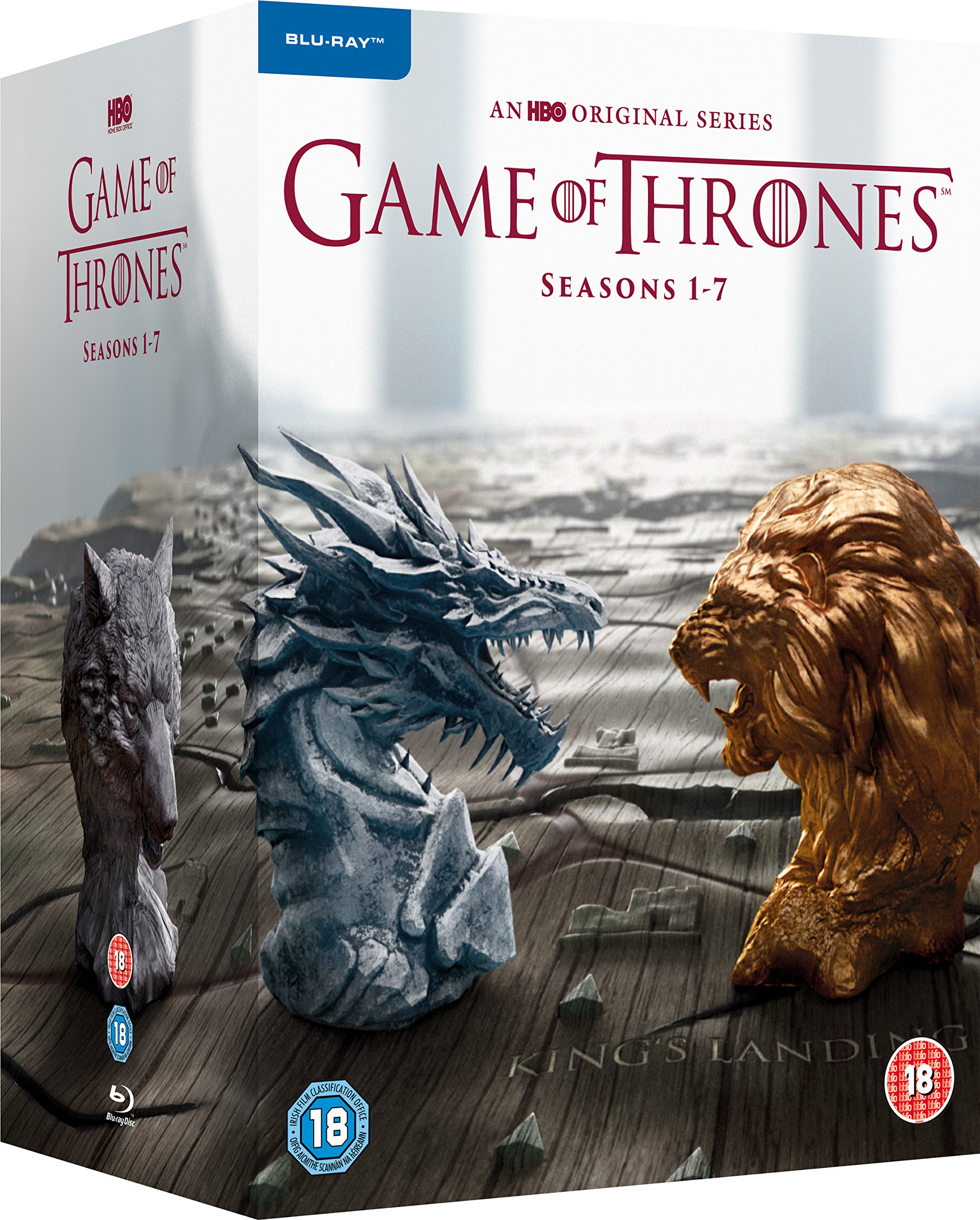 Game of Thrones - Season 1-7 2017  Region Free
