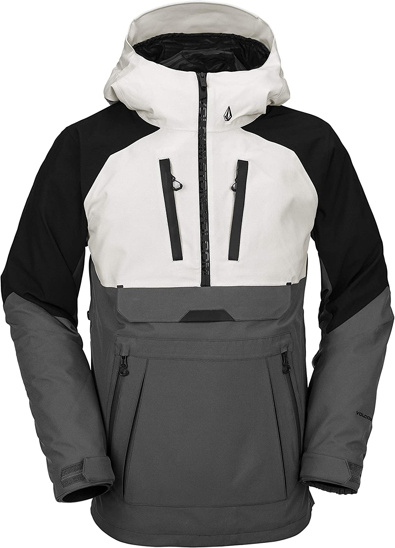 Volcom mens Brighton Pullover 2-layer Snow Jacket: Clothing