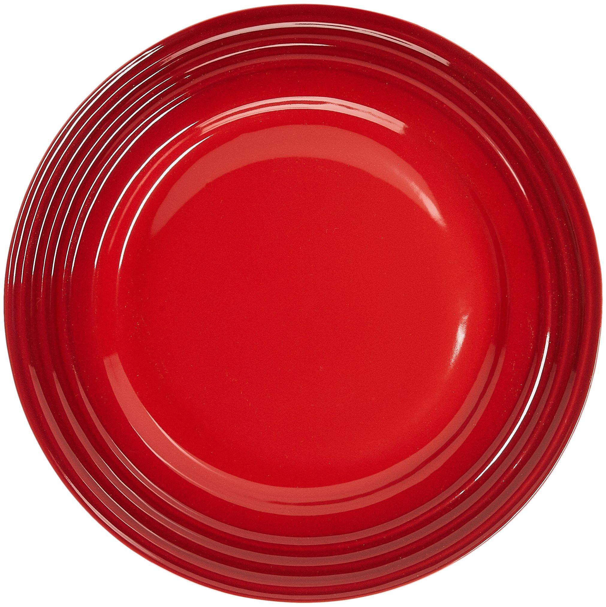 Le Creuset Stoneware 16-Piece Dinnerware Set, Cerise (Cherry Red) by Le Creuset (Image #2)