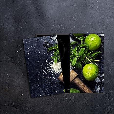 CTC-Trade | herdabdeckplatten Juego 2 x 30 x 52 cm ...