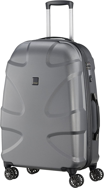 Titan X2 Medium 27 Hardside Spinner Luggage – gunmetal