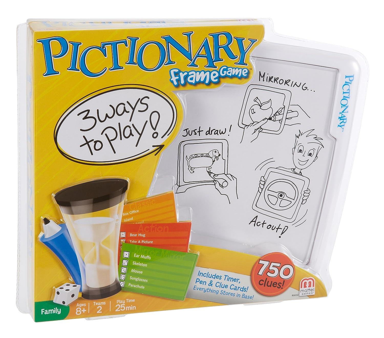 Pictionary - Bilder-Rahmen Spiel (Anleitung in Englischer Sprache ...