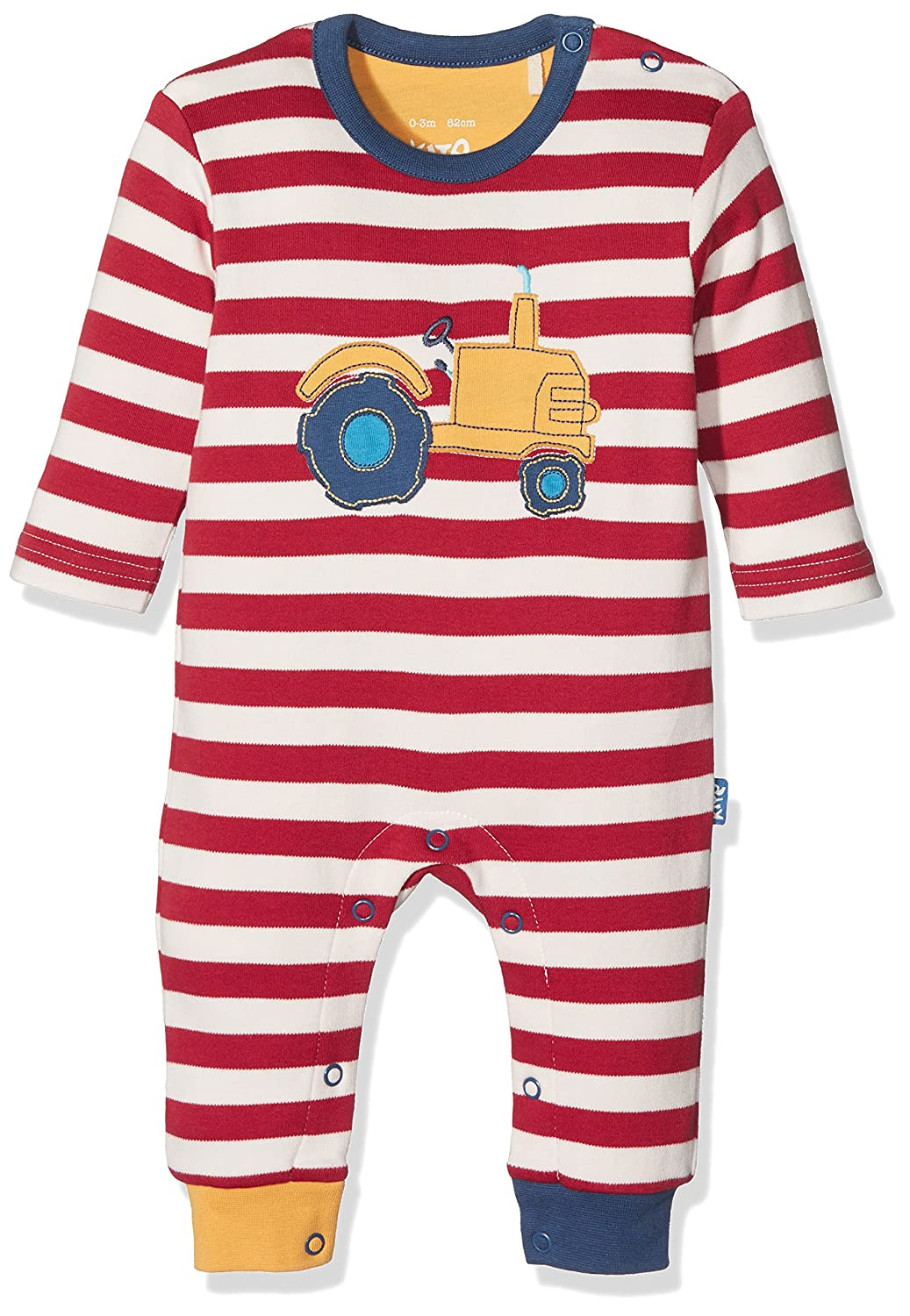 Kite Baby Boys' Tractor Romper Red 12-18 Months BB896