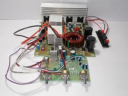 SOUMIK ELECTRICALS 7500W 12V DC Power Amplifier Board: Amazon in