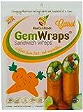 GemWraps Carrot Sandwich Wraps 6-sheets