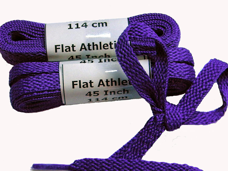 24 Pair case Pack Purple Your Team for Cancer Awareness! Brilliant Royal Purple TeamLaces tm