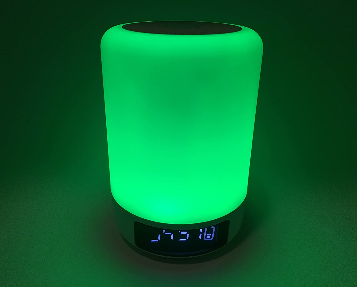 Bedside Table Lamp Alarm clock Portable Bluetooth Speakers Hands Free Night Light Dimmable Touch Sensor MP3 player LED Desk Lamp Bedside Table Lamp Color Changing Lamp DENT Products Upgraded Version