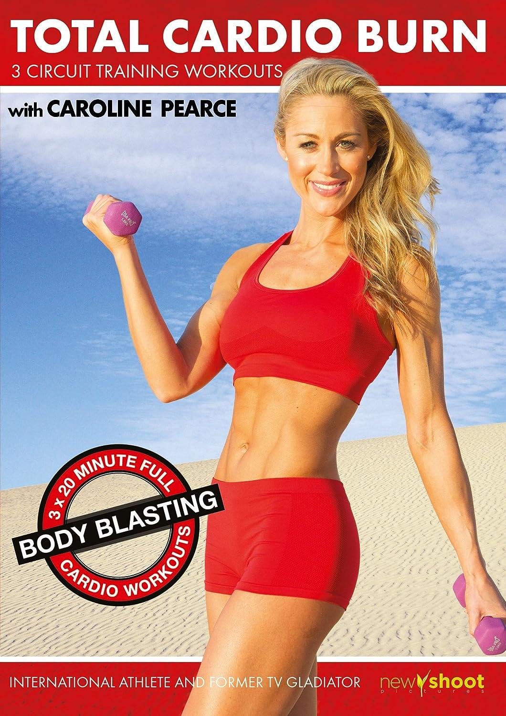 Total Cardio Burn 3 X Circuit Training Workouts By Caroline Pearce Workout Arms Legs Abs Christine Romano Matt Wright Dvd Blu Ray