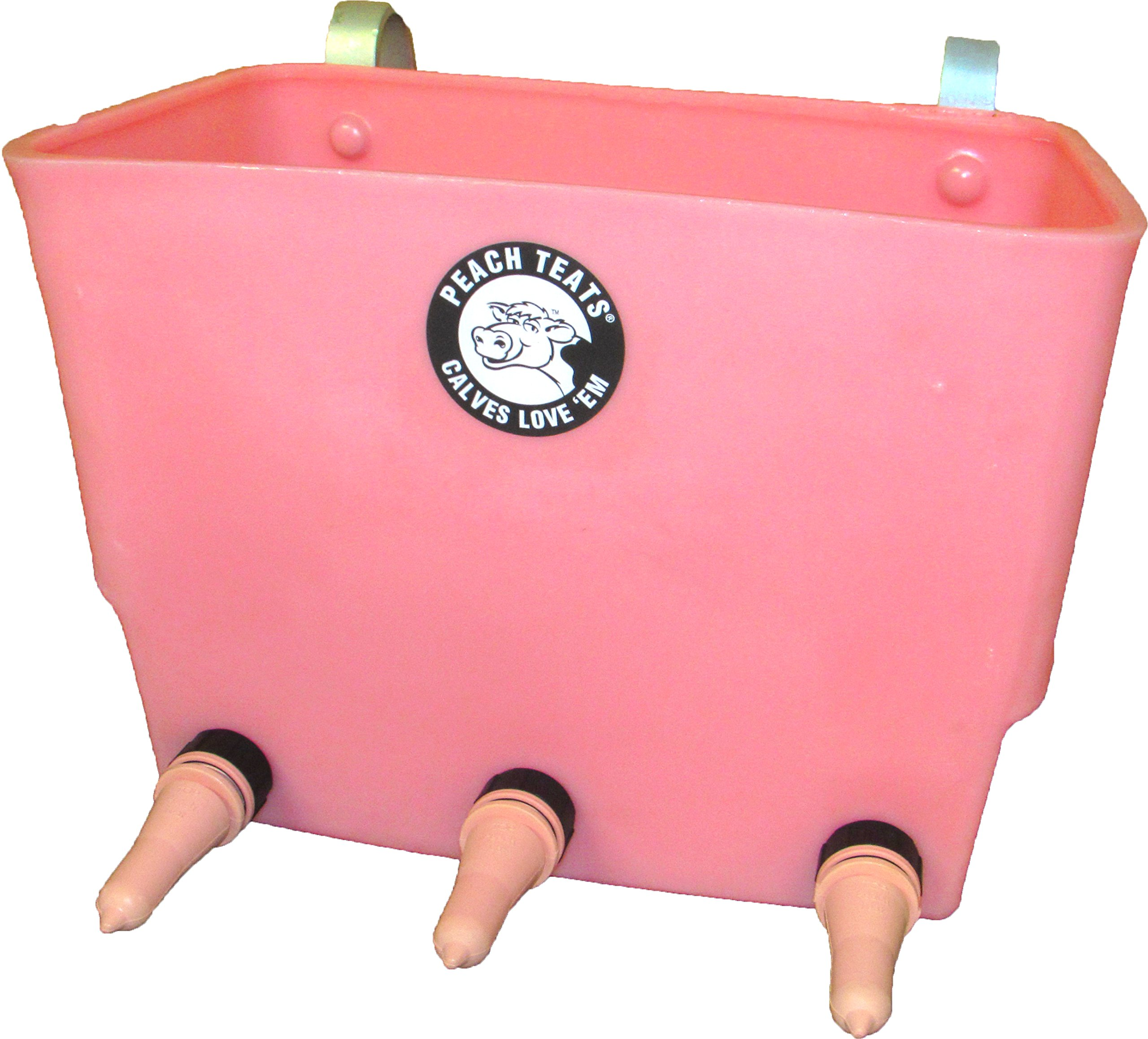 3 Teat Feeder Complete, Pink by Peach Teats