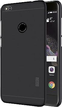 IVSO Funda Huawei P8 Lite Slim Concha Dura Funda Protectora de Carcasa Funda para Huawei P8 Lite 2017 Smartphone (Negro): Amazon.es: Electrónica