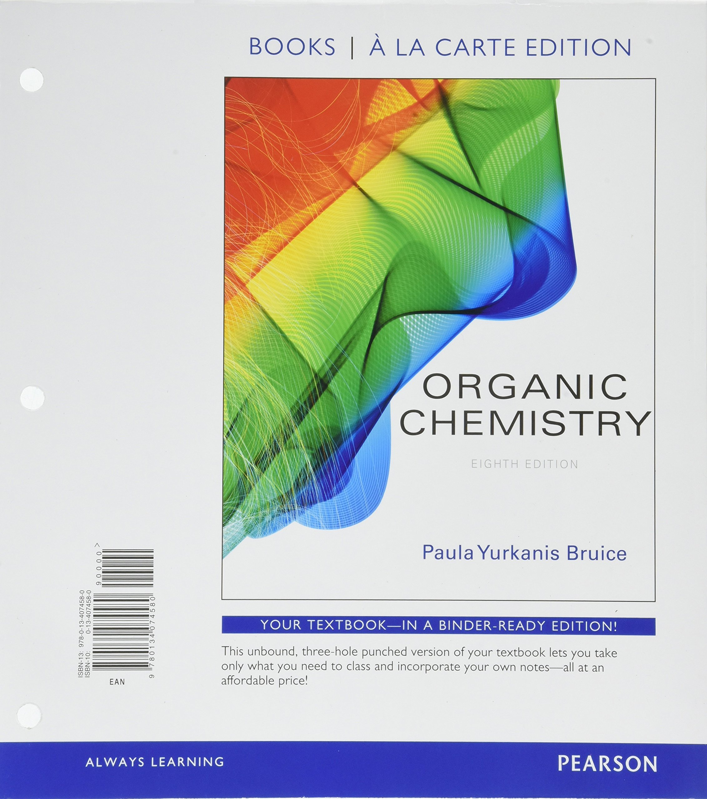 Organic Chemistry, Books a la Carte Plus Mastering Chemistry with Pearson  eText -- Access Card Package (8th Edition): Paula Yurkanis Bruice:  9780134473147: ...