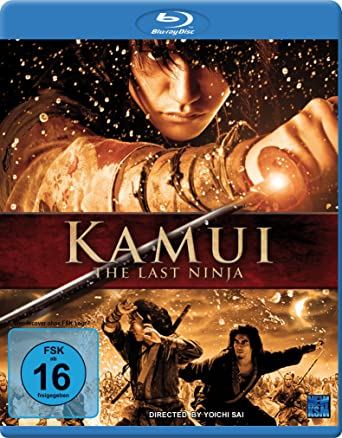 Amazon.com: Kamui - the Last Ninja [Blu-ray] [Import ...