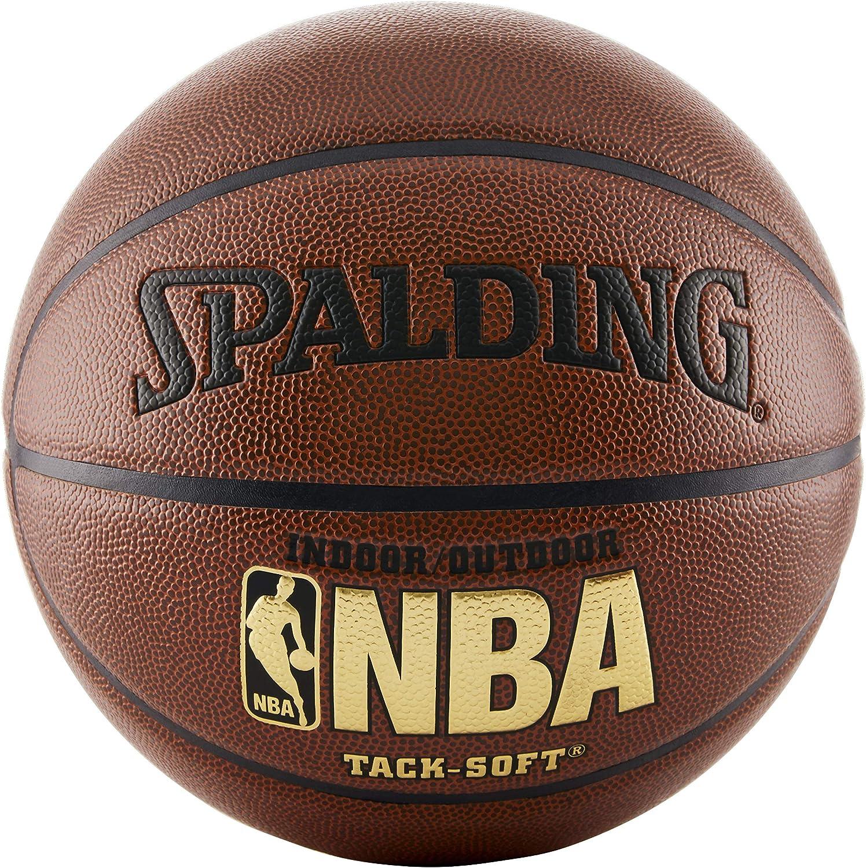 Spalding NBA Tack Soft Indoor-Outdoor Basketball : Basketball Indoor Outdoor : Sports & Outdoors