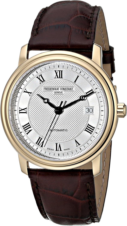 Frederique Constant Men s FC-303MC3P5 Classics Automatic Silver Dial Watch