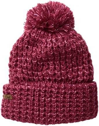 Coal Women s The Kate Waffle-Knit Beanie with Oversized Pom 3a2c319f58a