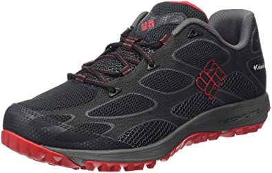 Columbia Conspiracy Iv Outdry, Chaussures Multisport Outdoor Homme, Noir  (Black/Bright Red