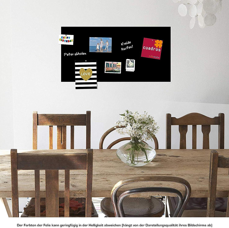 69,67 € // qm 150x100 cm Magnetische Tafelfolie für echte Kreide