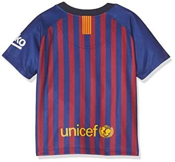Amazon.com: Nike 2018 – 2019 Barcelona Home Baby Kit: Sports ...