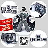 VRCardboard(fully assembled)Virtual reality headset support upto 6inch smartphones,inspired by google cardboard 2015