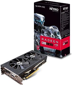 Amazon.com: Sapphire Radeon Nitro + RX 480 4 GB GDDR5 Dual ...