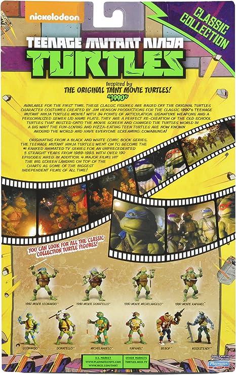 Teenage Mutant Ninja Turtles Classic Collection Original Movie Leonardo Action Figure