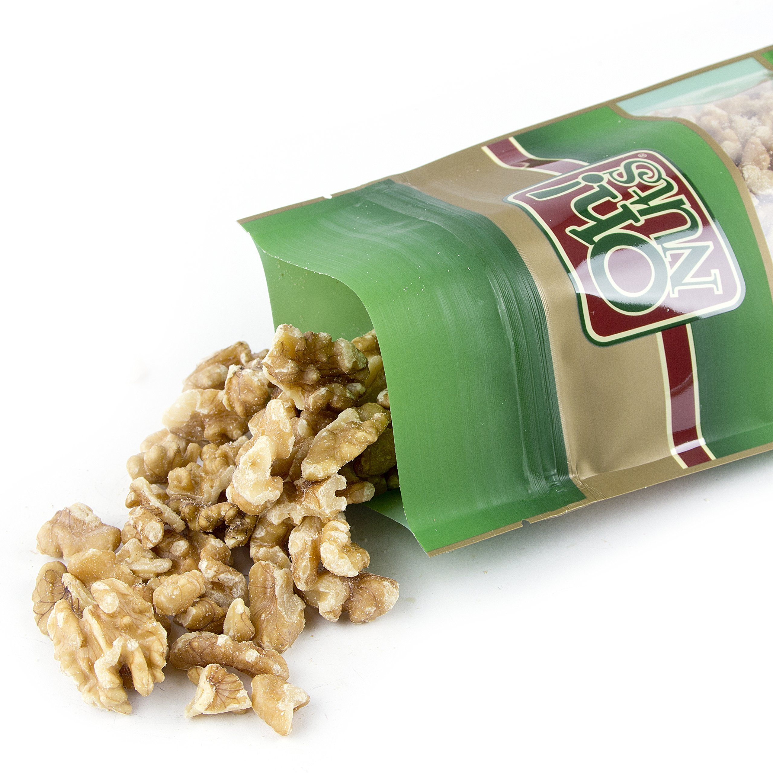 All Natural Walnuts Dry Roasted Unsalted, Walnuts Freshly Roasted Unsalted, No Oils Added - Oh! Nuts (2 Pound Bag) by Oh! Nuts®
