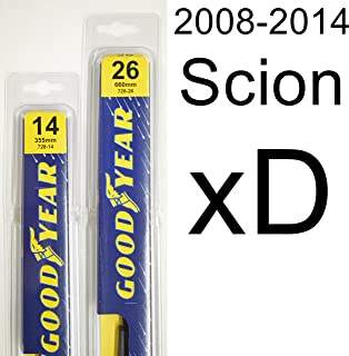 "product image for Scion xD (2008-2014) Wiper Blade Kit - Set Includes 26"" (Driver Side), 14"" (Passenger Side) (2 Blades Total)"