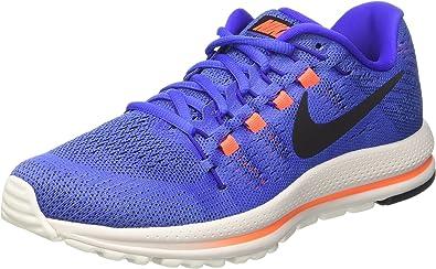 Nike Air Zoom Vomero 12, Zapatillas de Running Hombre, Azul (Med Blue/black/paramount Blue/hyper Orange/summit White), 46 EU: Amazon.es: Zapatos y complementos