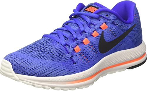 Nike Air Zoom Vomero 12, Zapatillas de Running Hombre, Azul (Med Blue/black/paramount Blue/hyper Orange/summit White), 46 EU: Amazon.es: Zapatos y complementos