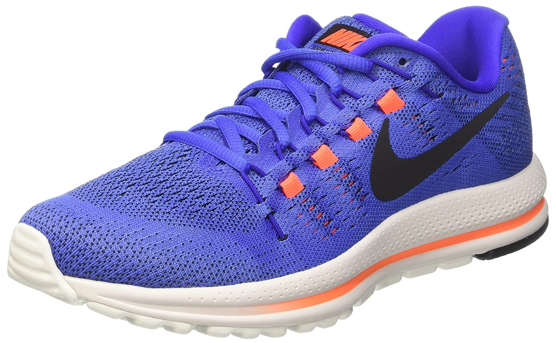NIKE Men's Air Zoom Vomero 12 Running Shoe B01N5HL75E 10.5 D(M) US|Medium Blue/Black