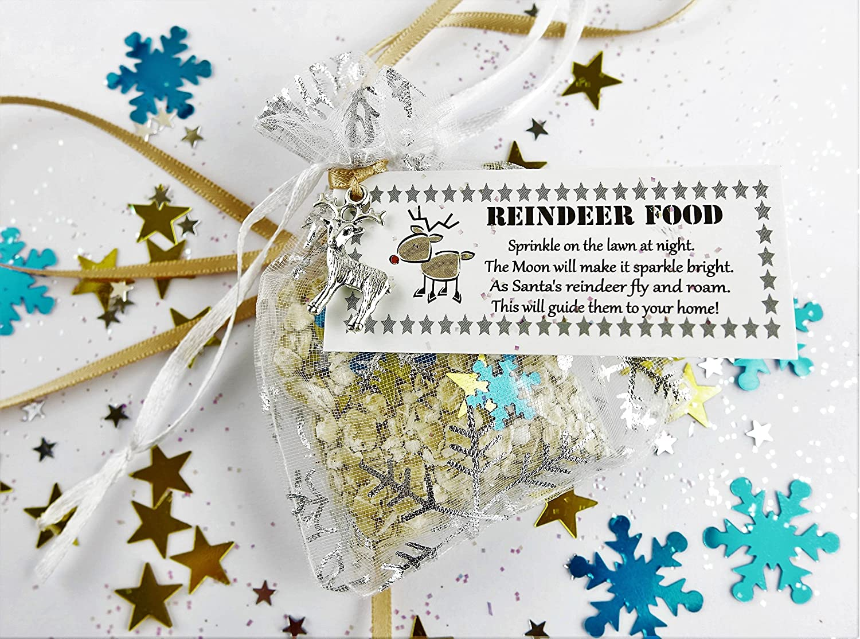 Christmas Eve Box Sparkly Magic Reindeer Food Santa Father Christmas