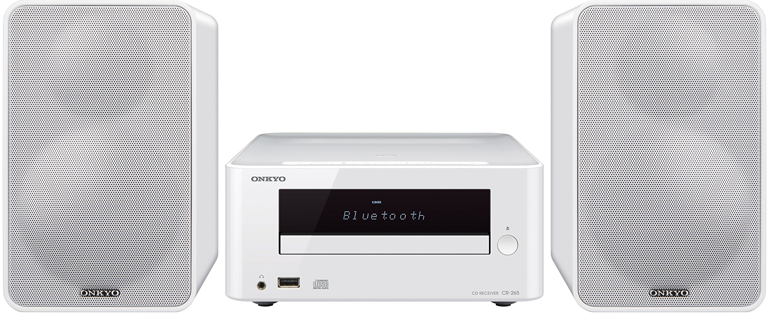 Onkyo CS-265(W) CD Hi-Fi Mini System with Bluetooth by Onkyo (Image #1)