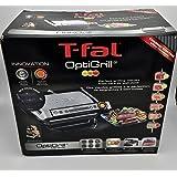 T-Fal Grill with Ceramic Plates & Recipe Book, Black