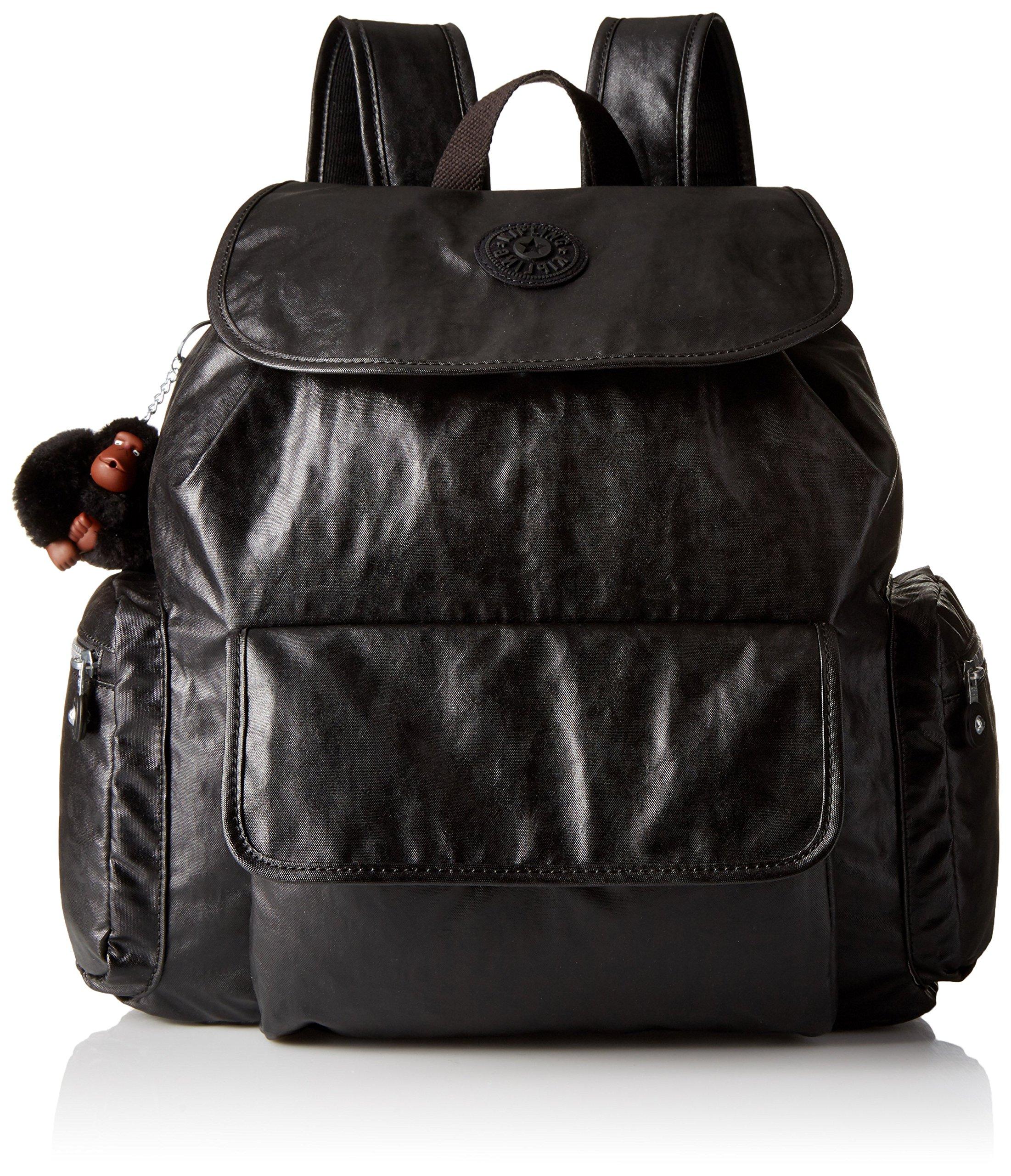 Kipling Women's Kirsty Backpack, Lacquer Black by Kipling