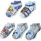 Nickelodeon Boys' Paw Patrol 5 Pack Shorty Socks