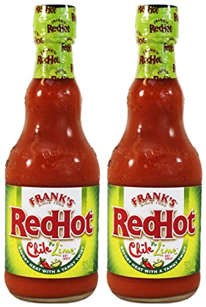 Amazon.com : Frank's RedHot Chile 'n Lime Hot Sauce (Pack of 2) 12 oz  Bottles : Grocery & Gourmet Food
