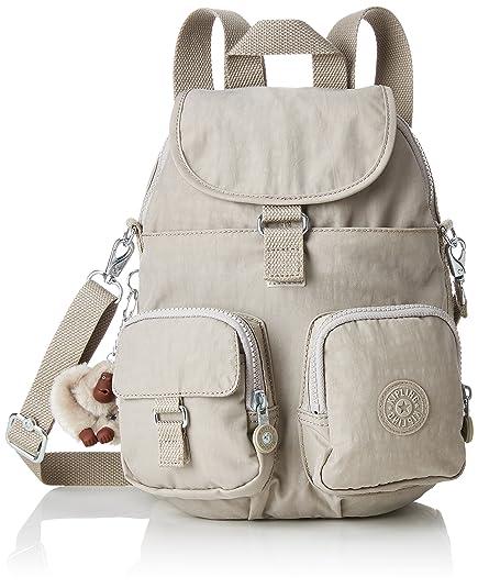 93b9384592b Kipling Women's Firefly N Backpack, (Pastel Beige), 22x31x14 cm ...