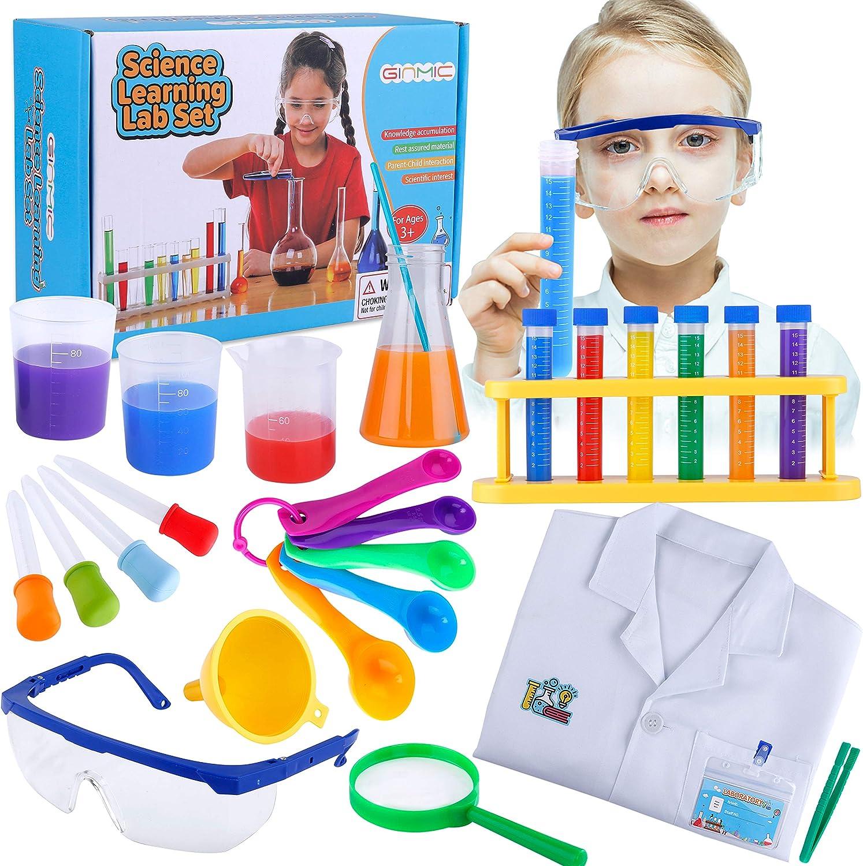 Junior Scientist Kit Children/'s Roleplay Fun Kits Experiment Set Kit Kids Toy