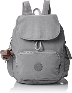 Kipling City Pack S Borsa a Zainetto Donna, 27x33.5x19 cm Silber (Moon Metal) One Size K15625