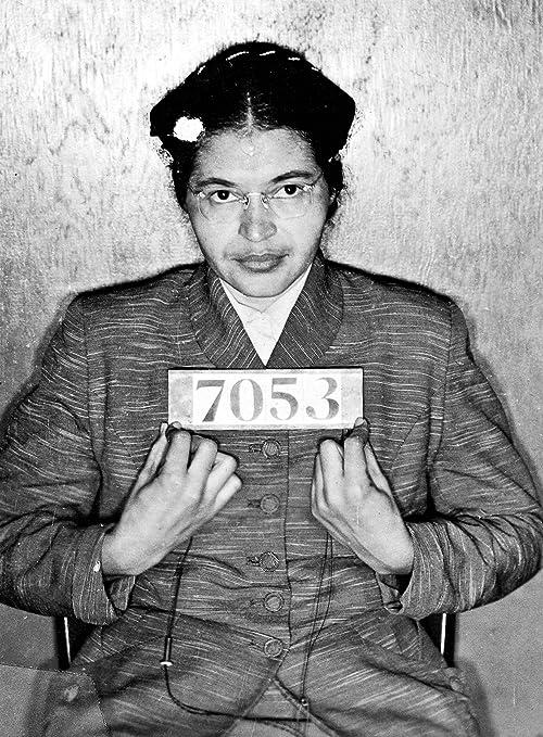 Art print POSTER Canvas Rosa Parks Addressing Crowd
