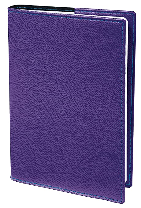 Agenda Escolar 1 Día/Página 2019-2020 Club, 12x17, color Morado