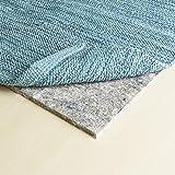 "RUGPADUSA - Basics - 7'x9' - 3/8"" Thick - 100% Felt - Protective Cushioning Rug Pad - Optional Non Slip Rubber Backing - Safe for All Floors and Finishes including Hardwoods"